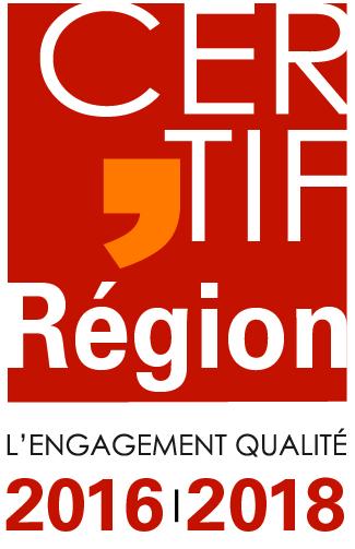 Label CERTIF\'Région | CFPO Lengadòc